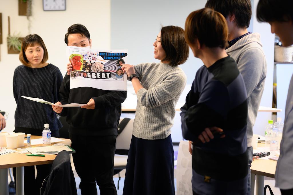イノベーター・ジャパン 社内ワークショップ